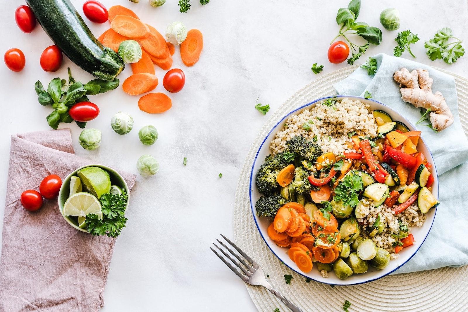 Programme de recettes saines et healthy OptimÂge pour être en forme
