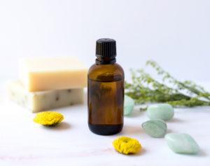 Mélange d'huiles essentielle aux propriétés anti-inflammatoires