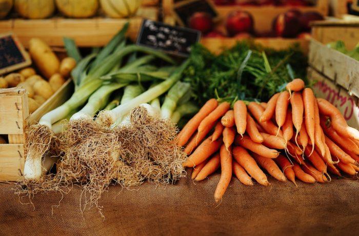 Légumes et aliments sains pour la santé